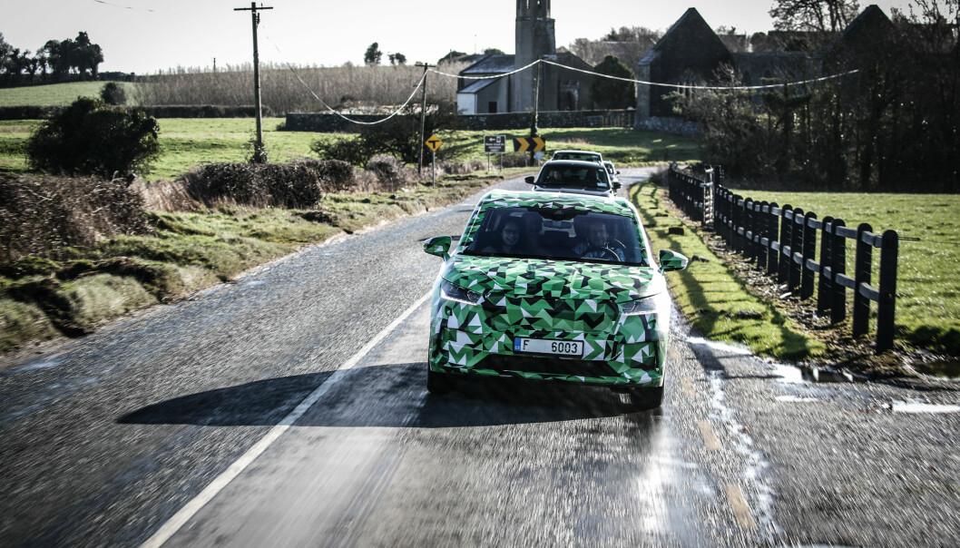 Skodas nye el-SUV imponerer