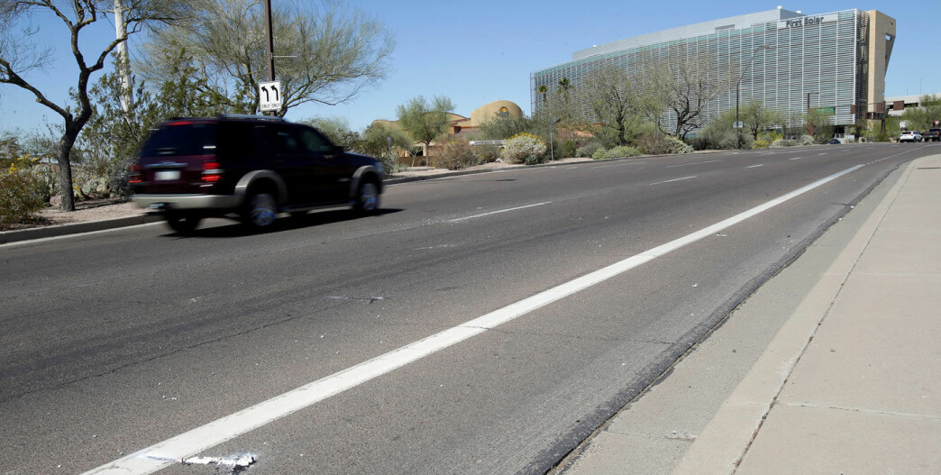 Her ble fotgjenger drept av selvkjørende bil