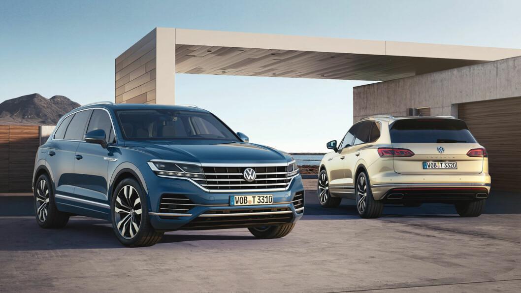 FLAGGSKIP: Nye VW Touareg er på plass hos norske forhandlere i løpet av sommeren. Foto: Volkswagen