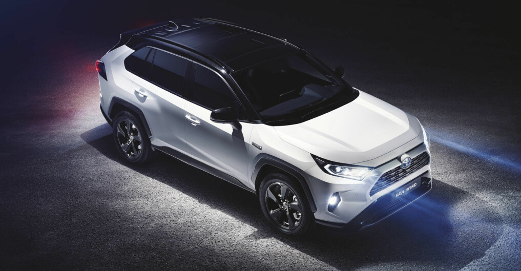 Toyota med helt ny RAV4 i 2019