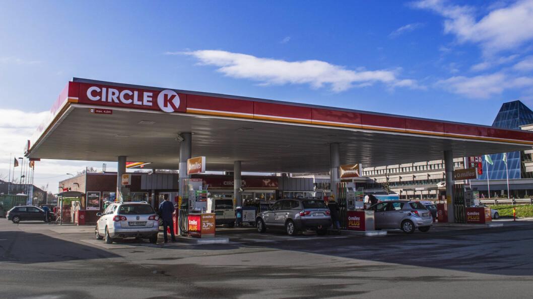 HISTORISK HØYT: Mandag morgen er det satt ny prisrekord på bensin og diesel hos Circle K. Foto: Teodor Bøe