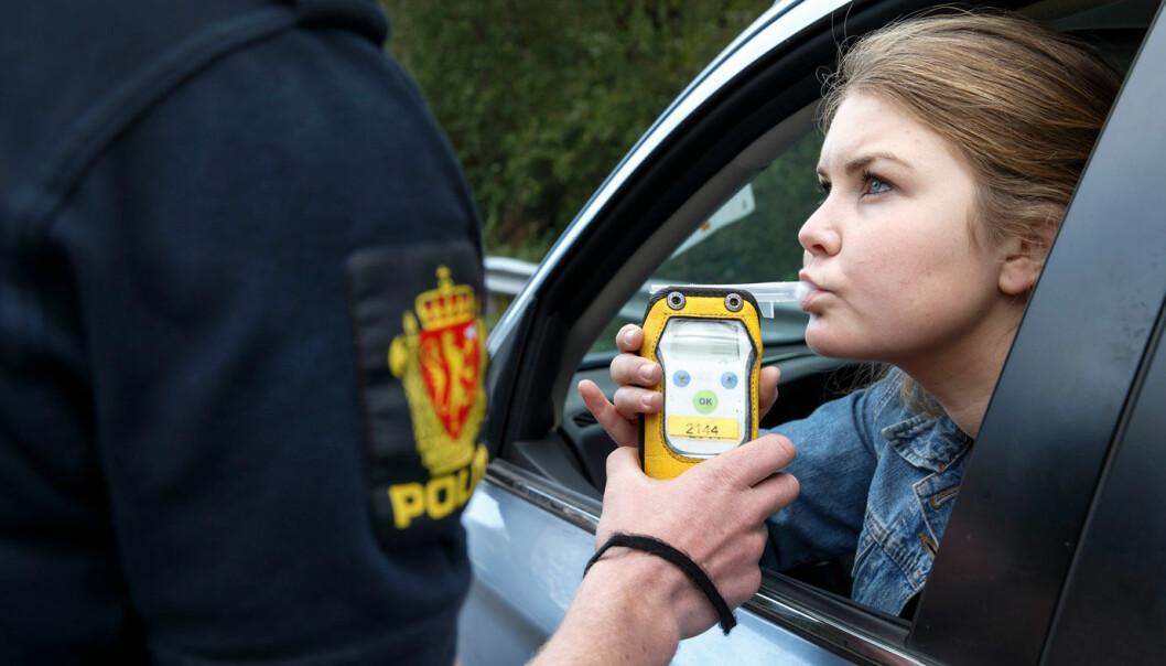 RØDT ELLER GRØNT: Over 1500 personer er anmeldt for ruskjøring i årets to første måneder.