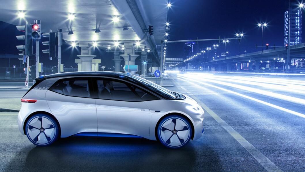 NEO NESTE? Dette er konsept-utgaven av den første og foreløpig minste bilen i VWs helelektriske ID-serie. Foto: Volkswagen