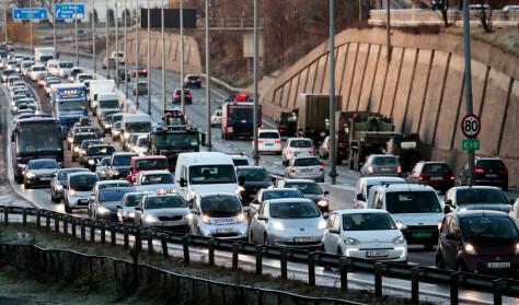 Nesten juli hele året i Oslo-trafikken