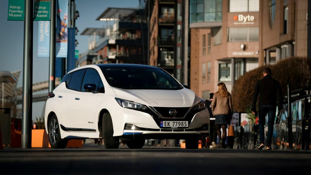 TRENDENE: Folk flest leaser en SUV eller en elbil i kompaktklassen, aller helst en Nissan Leaf, skal vi grovtolke de nyeste tallene fra OFV. Foto: Jon Terje Hellgren Hansen