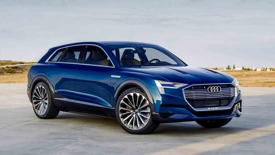 TYSK EL: Audi e-tron quattro