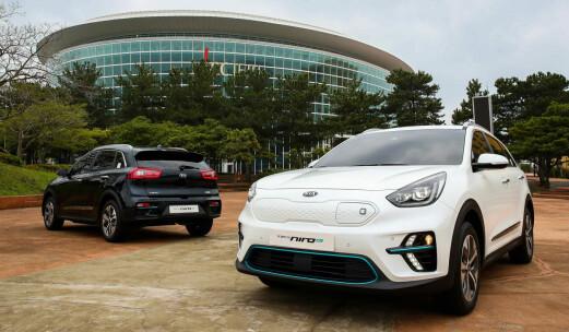 Her er de første bildene av Kias elektriske SUV