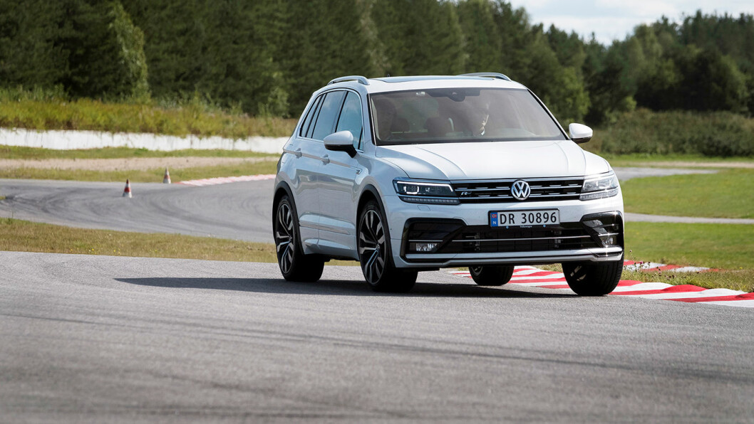 AVGIFTSTAPER: VW Tiguan er en av bilene som kommer riktig dårlig ut hvis avgiftsøkningen kommer på toppen av dagens satser. Foto: Jon Terje Hellgren Hansen