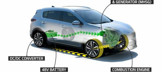 Lanserer mild hybrid-løsning på Kia Sportage