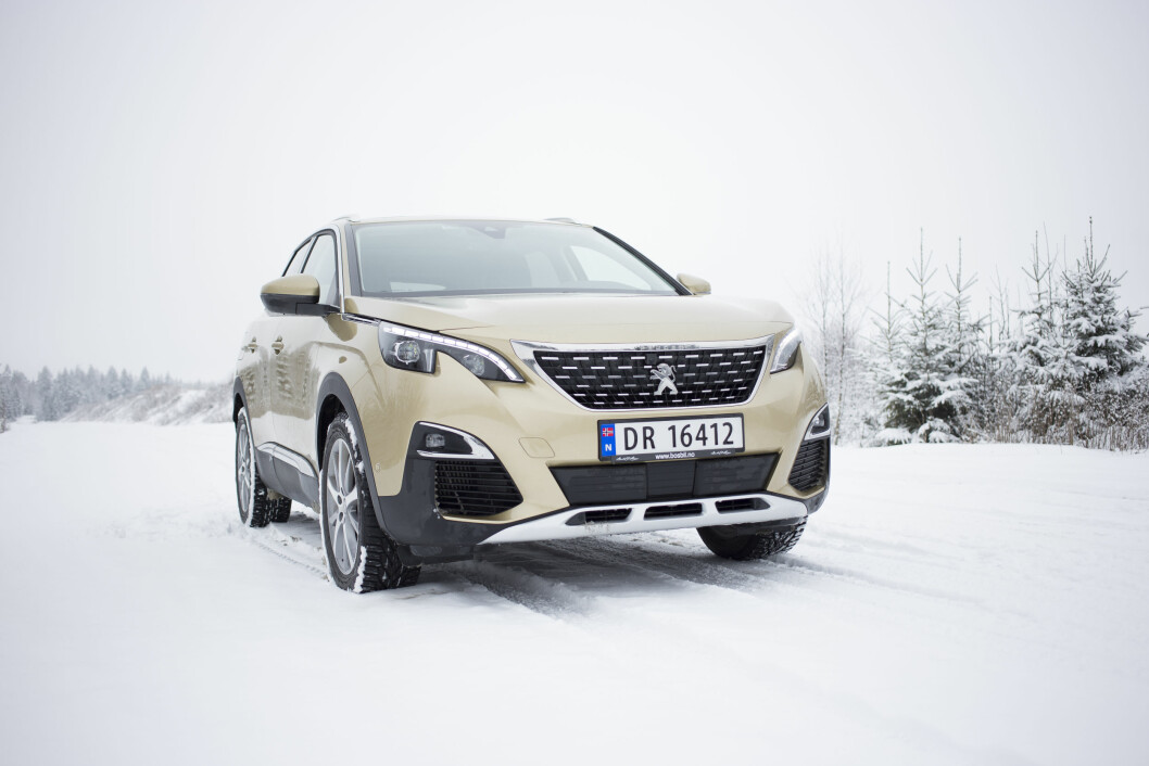EKSPERTENES FAVORITT: Peugeot 3008 vant «Car of the Year»-kåringen i vår, der bileksperter fra hele Europa deltok. Foto: Sveinung Uddu Ystad