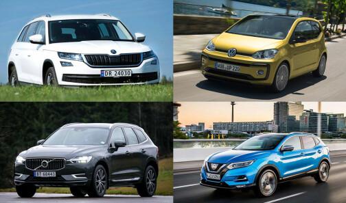 Så mye dyrere blir de mest populære bilene