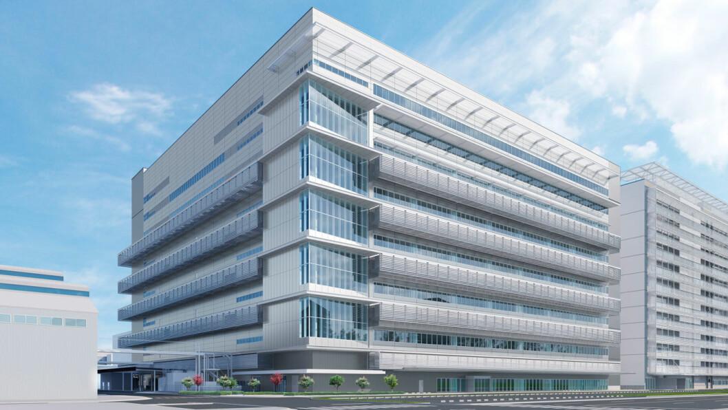 NYTT ANLEGG: Med den nye brenselscelle-fabrikken i Honsha-anlegget tar Toyota et langt steg mot å kunne ti-doble produksjonen av hydrogenbiler fra 2020. Foto: Toyota Motor