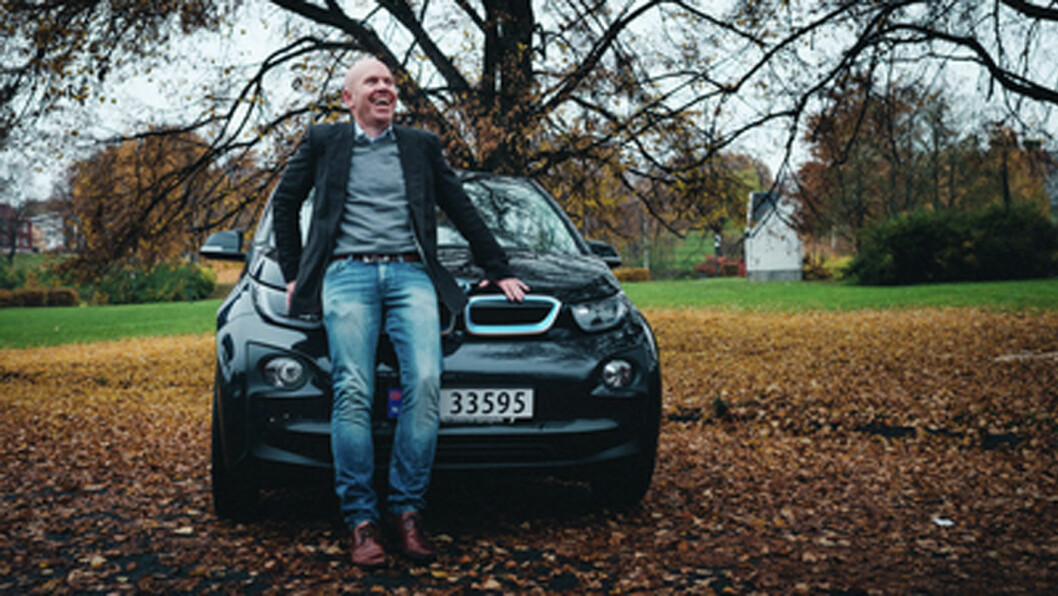 GIR ELBIL-RÅD: Ståle Frydenlund i Norsk elbilforening
