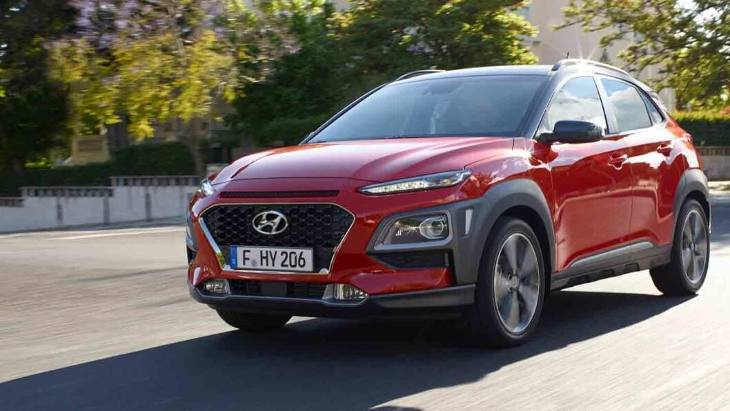 KOREANSK HIT: Hyundai Kona vil bli populær blant norske bilkjøpere.