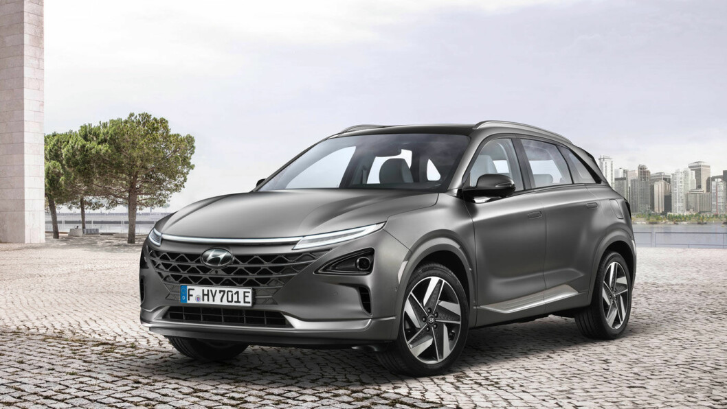 SMARTE LINJER: – For oss markerer Nexo en milepæl, og for Hyundai er den sammen med KONA electric en svært viktig elektrisk nyhet i 2018, sier produktsjef Øyvind L. Knudsen i Hyundai. Foto: Hyundai Motor