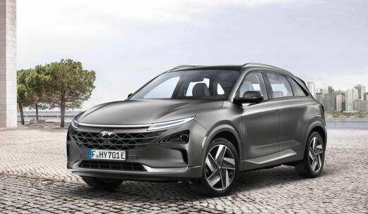 Ruller ut ny hydrogen-SUV