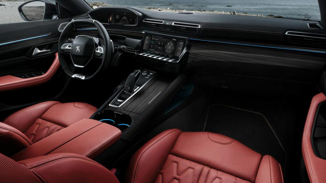 VANEDANNENDE: Peugeots i-cockpit fungerer meget bra, og er videreutviklet i nye 508.