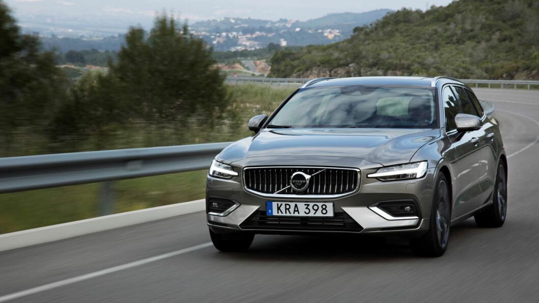 BENSIN: Volvo V60 T6