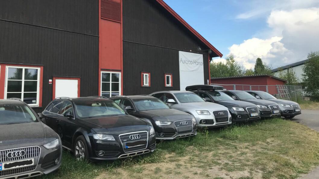 STORSELGER: Autoco Hamar er blant landets største på fullmaktsalg. De har til enhver tid over 300 biler for salg. Flesteparten av dem selges på fullmakt. Foto: Lina Schøyen