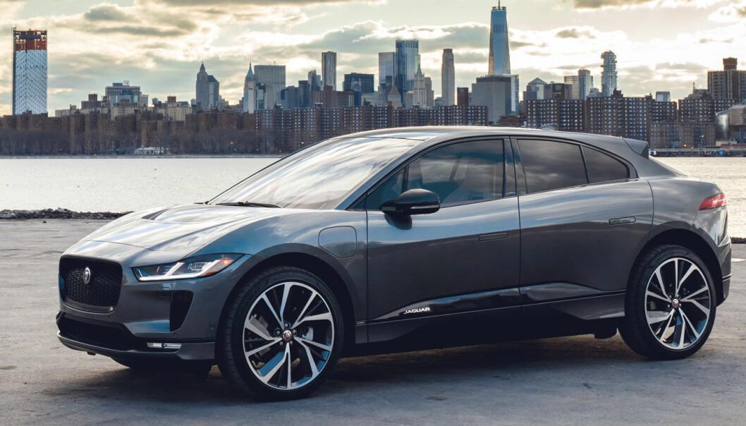 SATSER ELEKTRISK: Mye tyder på at Jaguar blir et helelektrisk merke – og at I-Pace får en lillebror.
