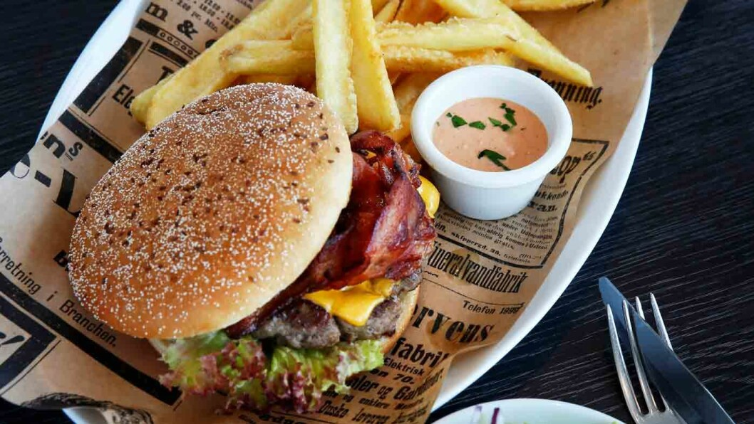 KLASSIKER: Sanngrund kan sine burgere.