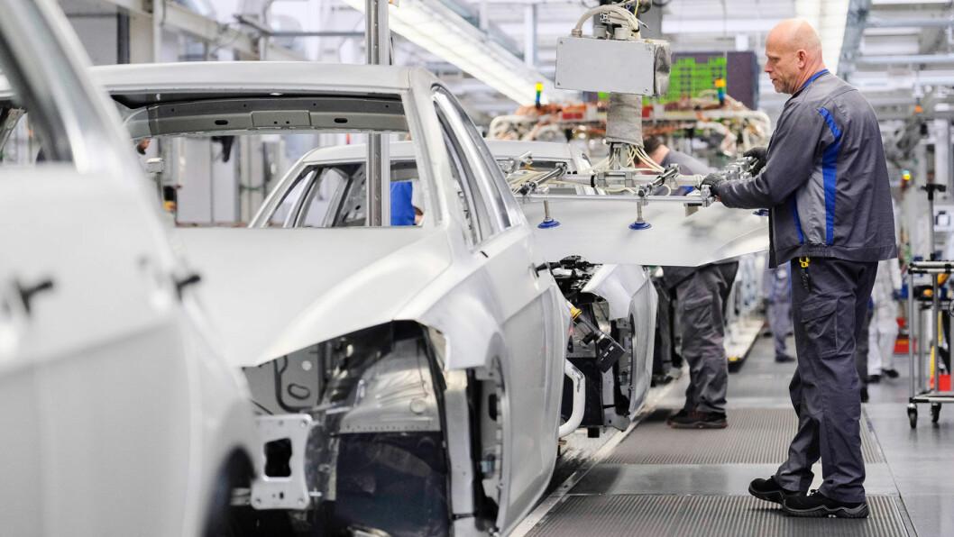 ONKEL I AMERIKA? Snart kan gutta på gulvet hos Volkswagen i Wolfsburg få en samarbeidspartner i Detroit. Foto: Volkswagen AG