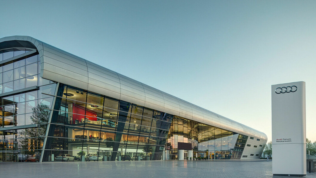 KOMPETANSESENTER: Audis hydrogensenter i Neckarsulm i Tyskland. Foto: Audi AG
