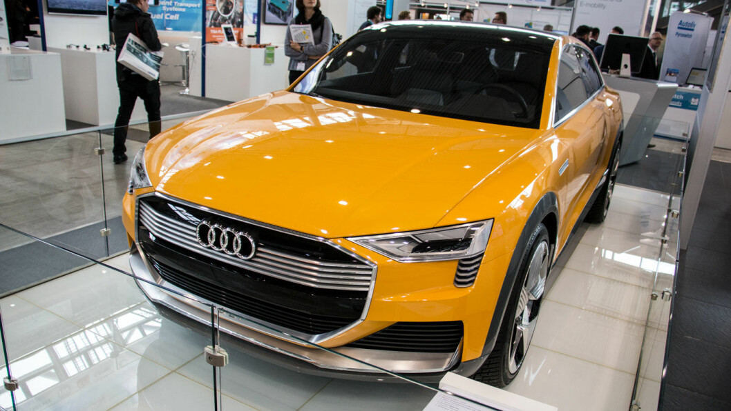 SNART PÅ VEIEN? Audi hevder de er kommet langt med sitt hydrogen-prosjekt, og venter h-tron på veien i løpet av noen få år. Foto: Peter Raaum