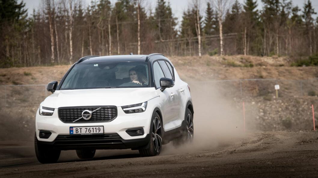 EL-KLAR: Årets bil 2018, Volvo XC 40, blir første rene el-bil med Volvo-logo. Foto: Jon Terje Hellgren Hansen