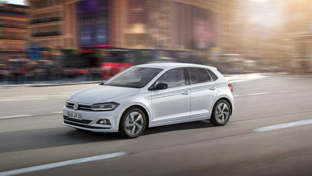 TIDLØST PREG: VW Polo er komfortabel, lettkjørt og kommer med mange motorvarianter.