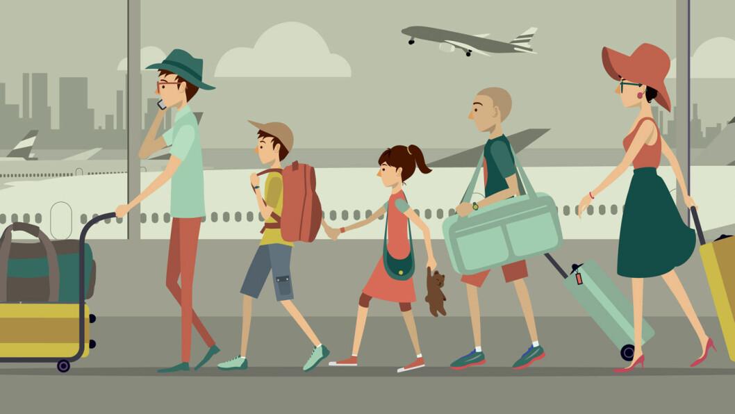 DUMHET DEKKES IKKE: Reiseforsikringen dekker ikke alt, bare fordi du er på ferie. Det kan være greit å vite hva du ikke får igjen på forsikringen. Foto: Shutterstock