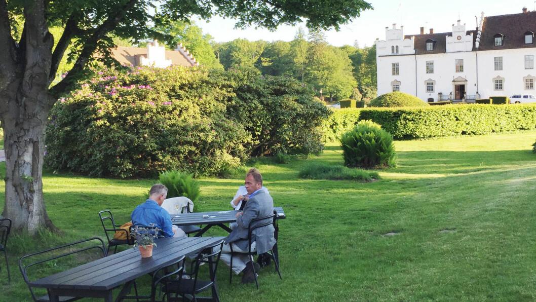 GAMMELDAGS IDYLL: Wanås er ett av de mange slottene du kan besøke i Skåne. Foto: Lina Schøyen