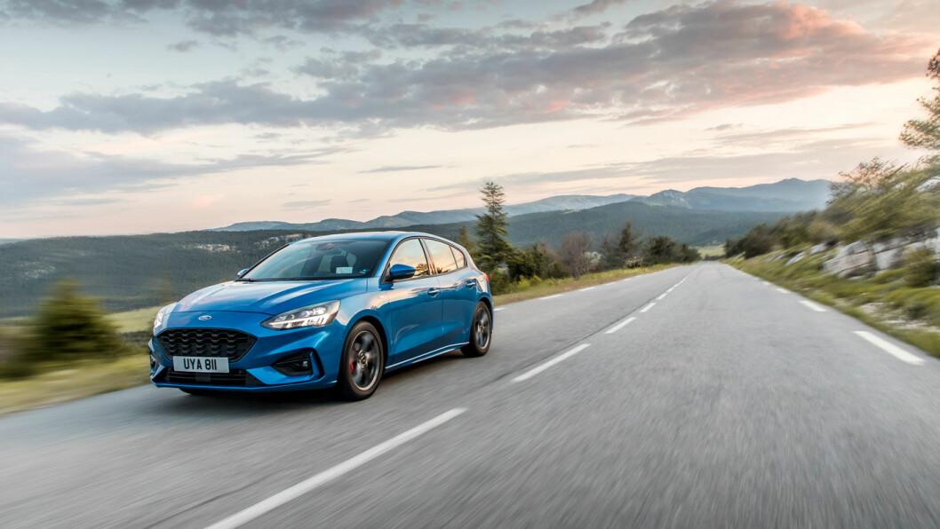 DEN BESTE: Nye Ford Focus imponerer på det aller meste, unntatt avstemmingen med norske bilkjøperes preferanse for strøm.
