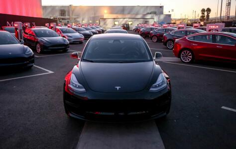 Tesla har nådd målet om 5000 biler i uka