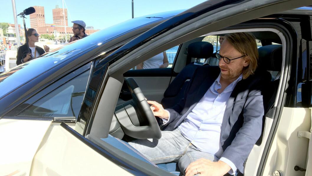 FRA BMW TIL BYTON: Sjefdesigner i Byton, Benoit Jacob, er tidligere sjefdesigner i BMW.