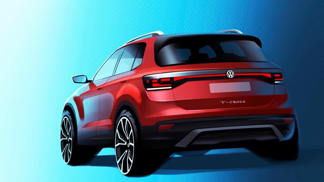 MINI-SUV: Den nye SUV'en til VW blir drøye fire meter lang, og kommer neppe med firehjulsdrift.