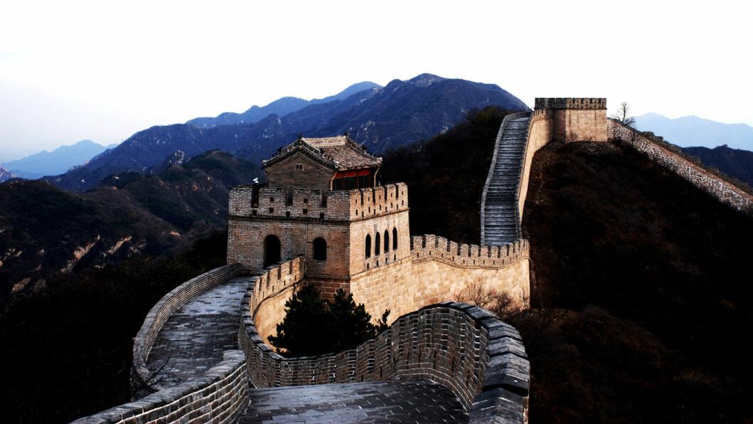 INGEN HINDRING: Den kinesiske mur skremmer verdens største bilprodusenter mindre enn den amerikanske presidentens handelsmurer. Foto: Flickr