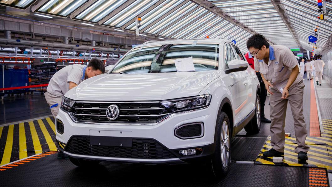 SATSER: Fra Volkswagens fabrikk i Foshan, Kina