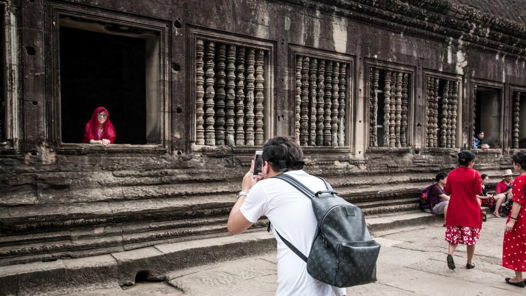 SMIL: Motivene er mange i hjertet av Angkor Wat.