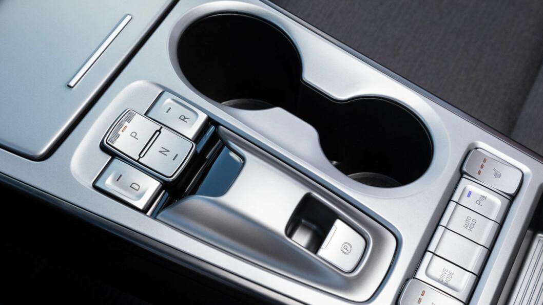 FUNKSJONELT: Interiøret er tydelig og lettbetjent i god Hyundai-ånd, du trenger ikke mange minuttene på å bli kjent med bilen.