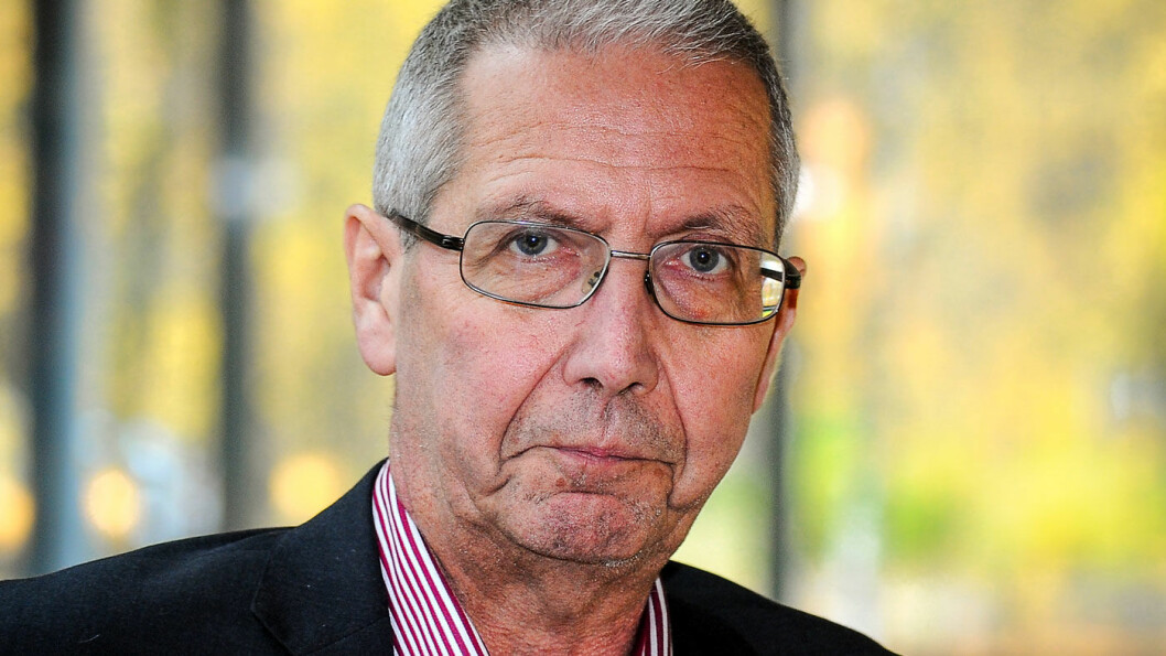BEKYMRET: Vegdirektør Terje Moe Gustavsen. Foto: Knut Opeide