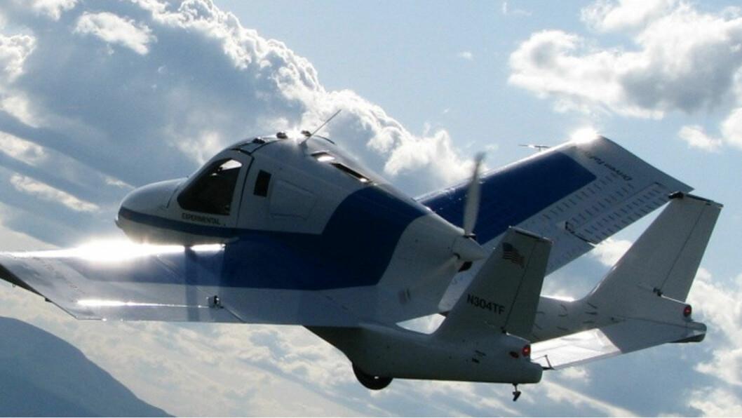 LANSERINGSKLAR: Flybilen er plutselig nærmere en lansering enn noen drømte om. Allerede neste år kan den være en realitet.