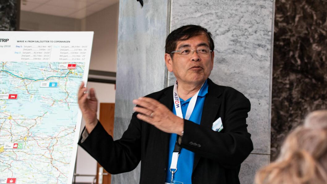 HYDROGEN-VETERAN: Katsuhiko Hirose har vært tilknyttet Toyotas hydrogensatsning siden 2003. Foto: Peter Raaum