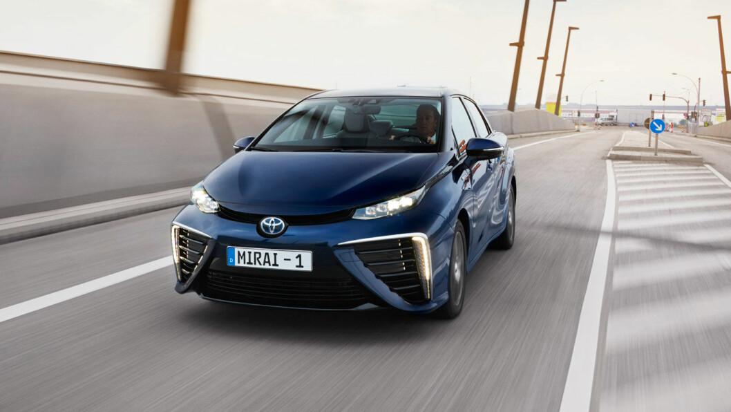 TOYOTAS FREMTID? Hydrogenmodellen til Toyota bærer navnet Mirai, som er japansk for «fremtid».