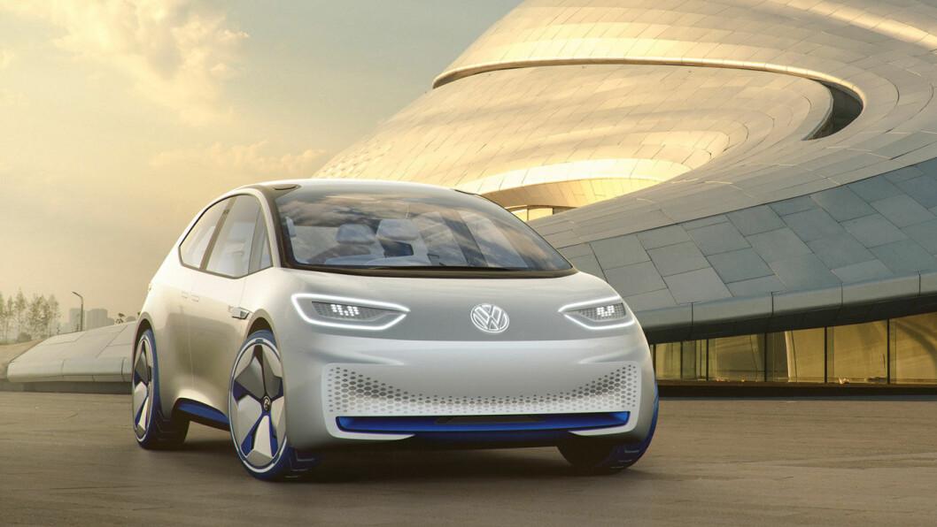 GOLF-UTGAVEN: Neo er planlagt som Golf-modellen i Volkswagens elektriske ID-serie. Foto: Volkswagen AG