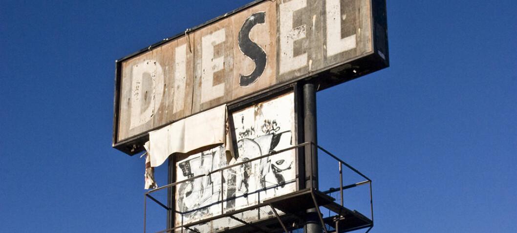 Nå stuper salget av dieselbiler