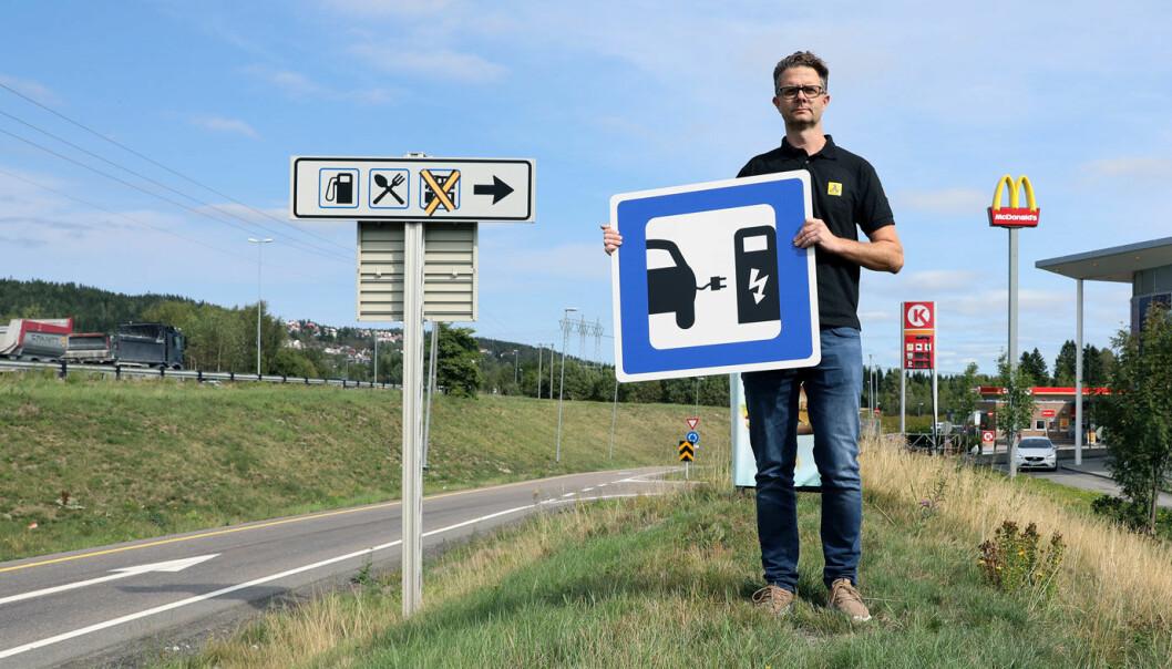 TRENGER 5000 LADEPUNKTER: – Lading er et glemt kapittel for regjeringens 2025-mål, sier Nils Sødal i NAF.