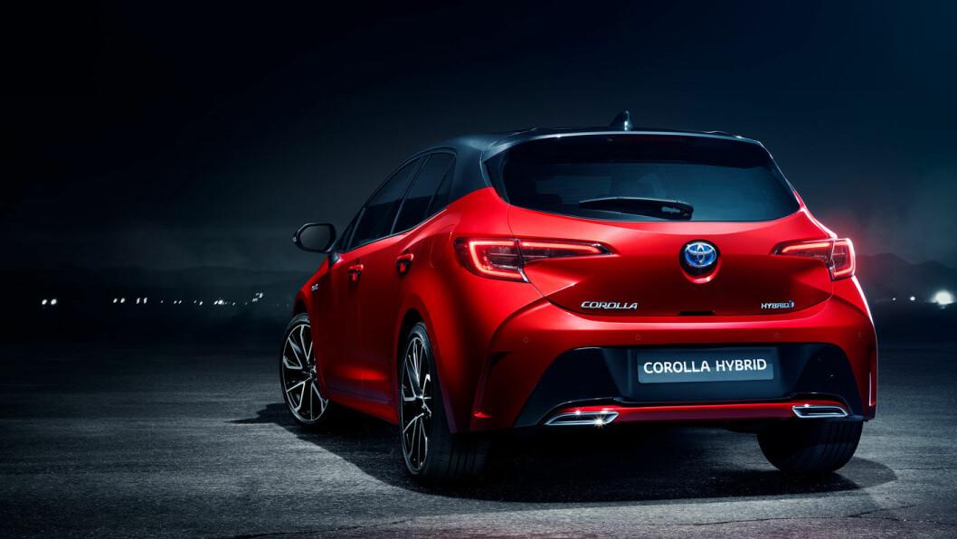TILBAKE I NORGE: Toyota Corolla
