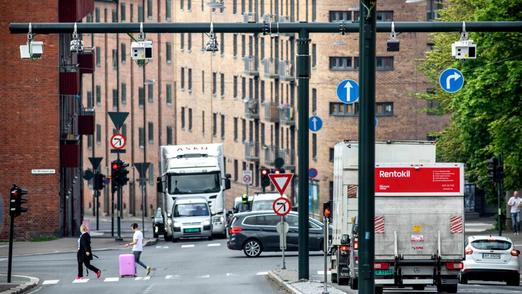 NY HVERDAG: Fra 1. juni er det 83 bomstasjoner i stor-Oslo. Senere kommer bommene på de nye hovedfartsårene ut av byen, øst- og vestkorridoren. Foto: Tomm W. Christiansen