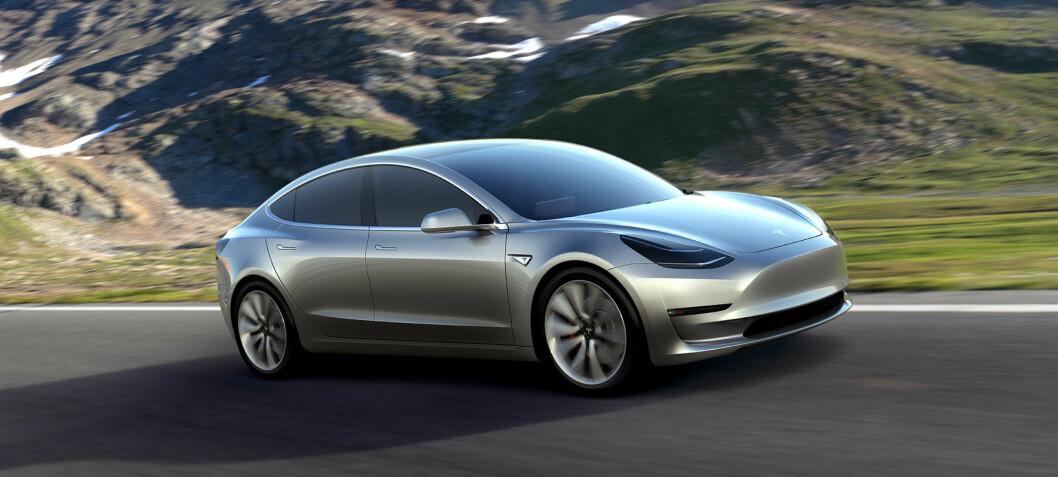 Folke-Tesla'en imponerer i fartstester